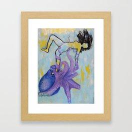 The Everglow Framed Art Print