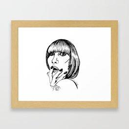 karen o Framed Art Print