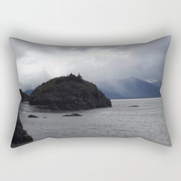 Beluga Bay, Alaska Rectangular Pillow