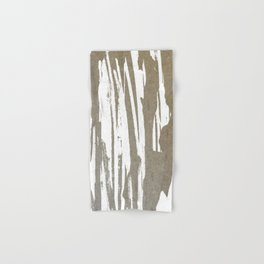 Abstract Taupe Splash Design Hand & Bath Towel