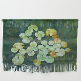 Tranquil lily pond Wall Hanging