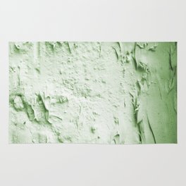 Damaged wall pic in background with green color, ready for clothes,furnitures, iphone cases Rug