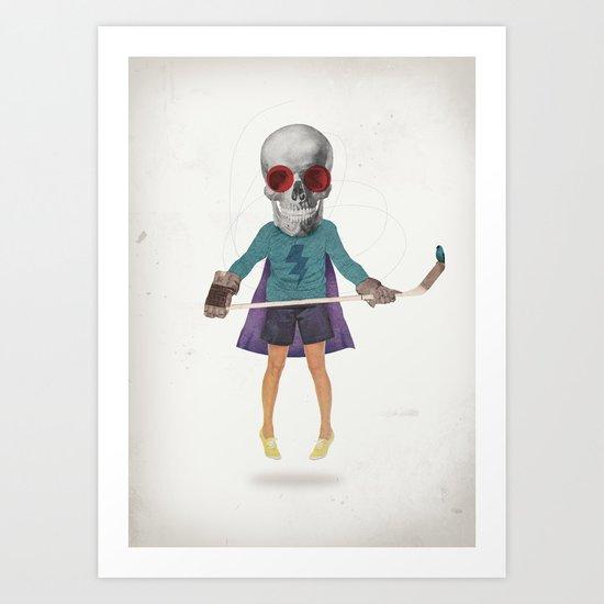 Superhero #9 Art Print
