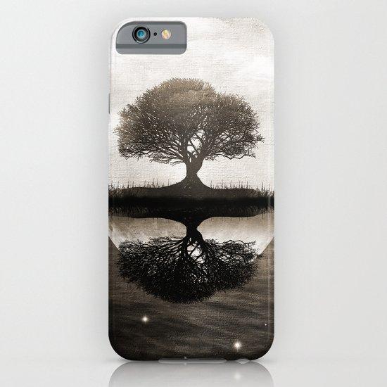 The lone Night reflex iPhone & iPod Case