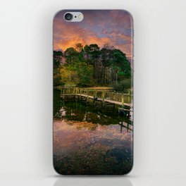Lakeside Launch iPhone Skin