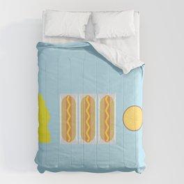 Mustard Meal Comforters