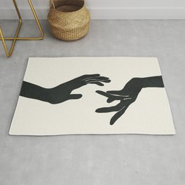 Abstract Hands Rug