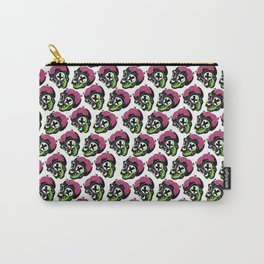 Toxic Monkey Skull Pattern Carry-All Pouch