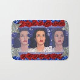 Ziegfeld Girl - Hedy Lamarr - Screen Siren  Bath Mat