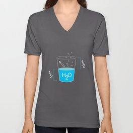Full Glass Funny Unisex V-Neck