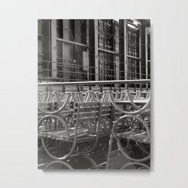 stacked seats Metal Print