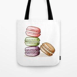 Desserts: Macarons Tote Bag