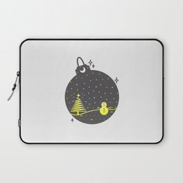 Christmas inside a sphere Laptop Sleeve