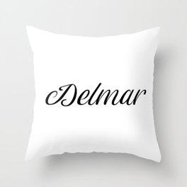 Name Delmar Throw Pillow