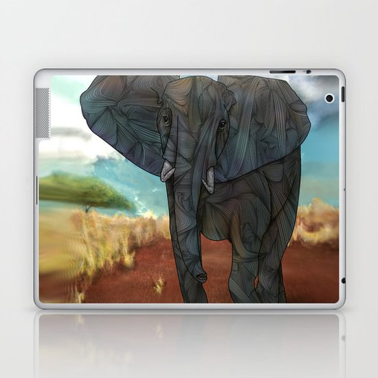African Elephant Laptop & iPad Skin