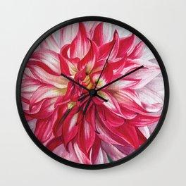Dahlia 4 Wall Clock