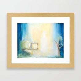 Auferstehung - Joy Of The Resurrection Framed Art Print