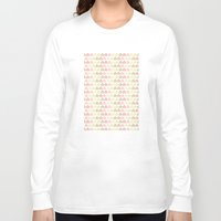 flower pattern Long Sleeve T-shirts featuring Flower Pattern by C Designz