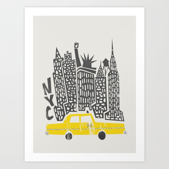 New York City Kunstdrucke