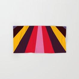 Modern halftone art multicolour prisma Hand & Bath Towel