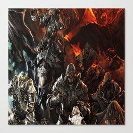 ghost troop Canvas Print
