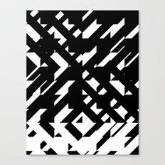 Shattered Hound Canvas Print