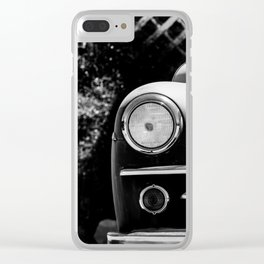 Simple Times Clear iPhone Case
