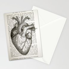 Anatomical Heart on French Stationery Cards