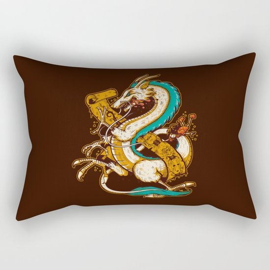 SPIRITED CREST Rectangular Pillow
