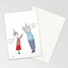 similar hats Stationery Cards