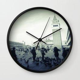 Venice, Piazza San Marco 1 Wall Clock