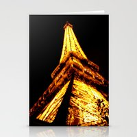 eiffel tower Stationery Cards featuring Eiffel Tower by Fimbis