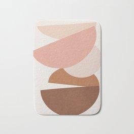 Abstract Stack II Bath Mat