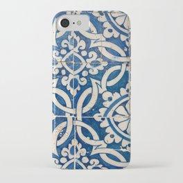 Vintage portuguese azulejo iPhone Case
