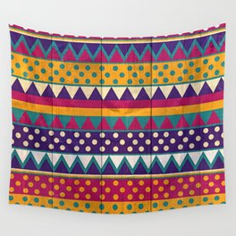 Mexican Pattern Wall Tapestry