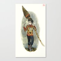 quidditch Canvas Prints featuring Harry Potter Quidditch Prep by Beastlyworlds