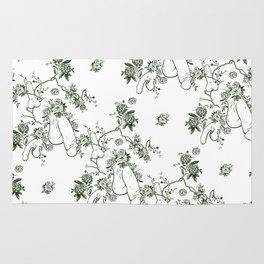 Penis Pattern GREEN Rug