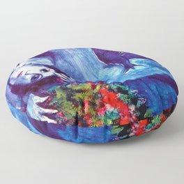 Marc Chagall, Le Paisage Bleu 1949 Artwork, Posters Tshirts Prints Bags Men Women Kids Floor Pillow