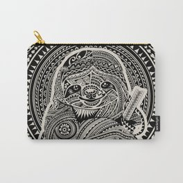 Polynesian Sloth Carry-All Pouch