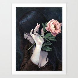 Painful Beauty Art Print