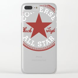 Converse All Star Chuck Taylor Clear iPhone Case