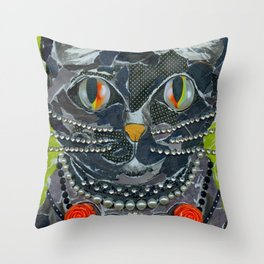 Homage To Betsy J. Throw Pillow
