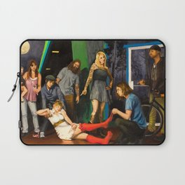 Whiskey is a brawler, but I think I love you Laptop Sleeve