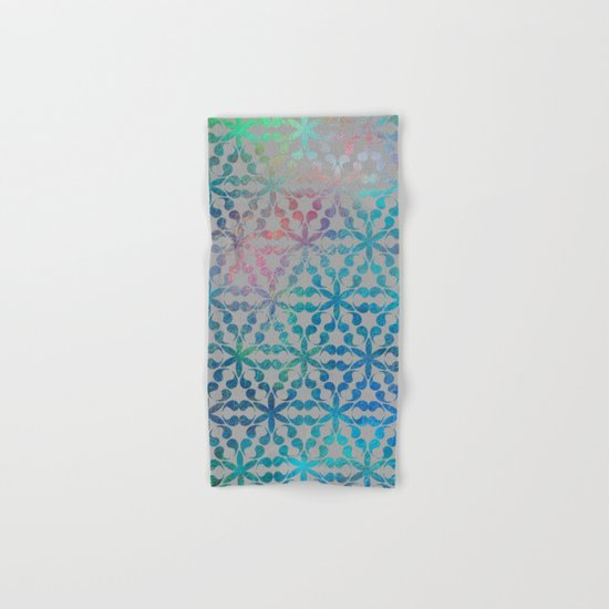 Flower of Life Variation - pattern 3 Hand & Bath Towel
