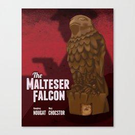 The Malteser Falcon Canvas Print