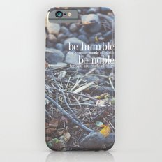 noble + humble. Slim Case iPhone 6s