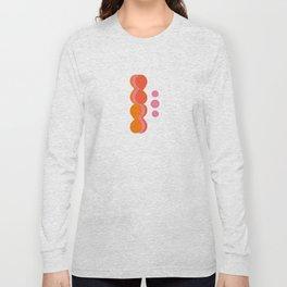 Uende Sixties - Geometric and bold retro shapes Long Sleeve T-shirt