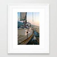 onward Framed Art Prints featuring Onward by Artfan15