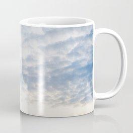 Cloudy sky | Pastel colored sunset at the beach | Fine art photography pri Coffee Mug
