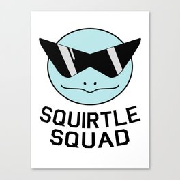 Squirtly Squad Canvas Print